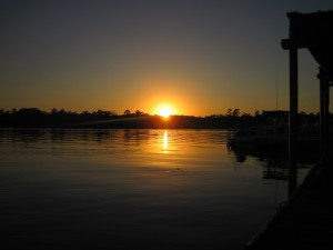 st. marks fish camp sunset