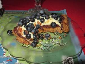 Blueberry-Pecan Tart