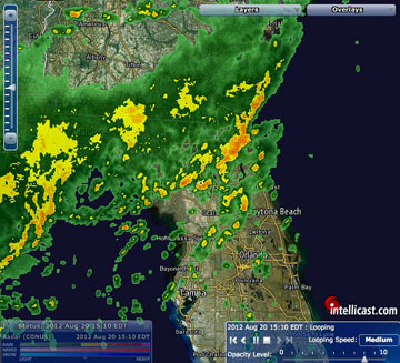 Weather Map Of Florida.A Word About Weather While On The Water Visit Natural North Florida