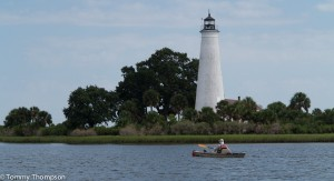 Segment J takes you within reach of St. Marks Lighthouse, at the mouth of the St. Marks River