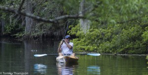 The spring run at Manatee Springs State Park offers seasonal fishing.