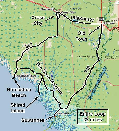 Map Of North Florida.Shired Island Dixie County S Hideaway And A Great Spot To Fish