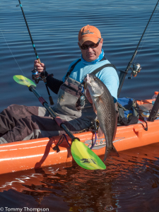 If you're up for an adventure, consider the Big Bend Paddle Trail.  It will take you south, over 100 miles, from Panacea in St. Marks, with some of the best fishing anywhere in Florida.