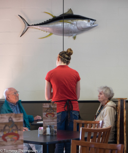 Friendly service is key to a great experience at Cherry's Seafood & Steaks, in Trenton, FL
