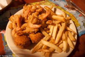 Fried shrimp at The Lighthouse can't be beat!
