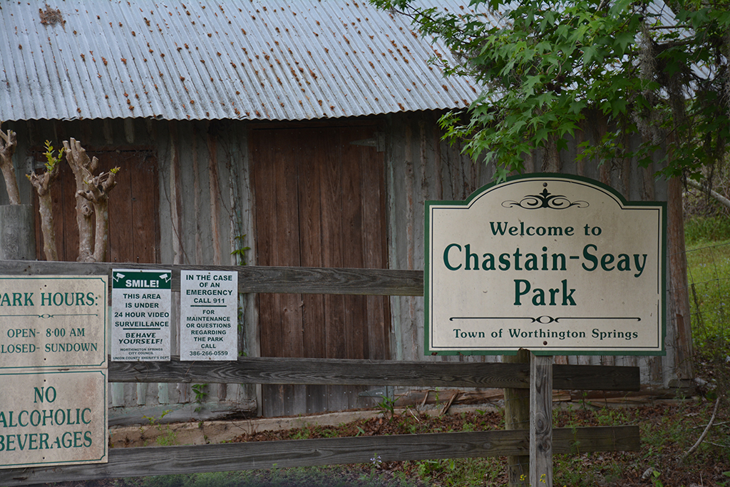 Entrance to Chastain-Seay Park