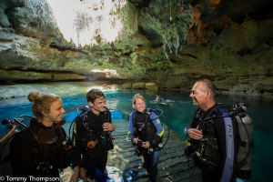 Not SCUBA certified?  The Dive Shop at Devils Den can hook you up with qualified and certified instructors.
