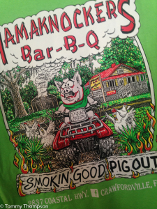 Tired of seafood? Pig Out at Hamaknocker's BBQ in Panacea!