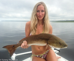 Follow Meghan's lead and catch some big fish close to shore!