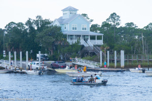 Steinhatchee has two public boat ramps.  This one is on the Dixie County side of the river, across from the Sea Hag Marina.