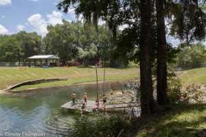 Gilchrist County's Gornto Spring Park is fun for folks of all ages!
