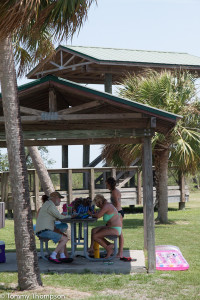 You'll find an observation tower, picnic pavillions and rest rooms at Hagens Cove Park