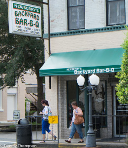 Newberry's Backyard Bar-B-Q has been serving locals some good eats for years.