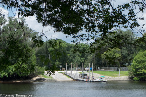 ...and there's a convenient boat ramp just across the river from the run, in Dixie County