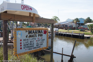 Start your trip to Horseshoe Beach with a visit to the local marina.