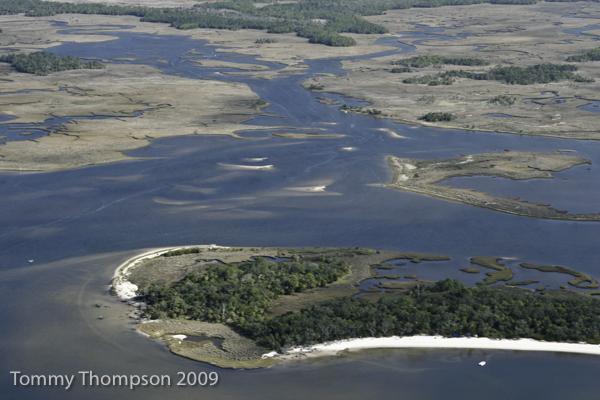 Deer Island towards Giger Creek