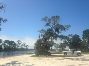 Rocky Creek's boat ramp is the perfect spot to being a great day of fishing on Florida's Gulf Coast