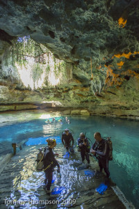 Levy County's Devils Den is a private spring catering mostly to snorkelers and SCUBA divers. But it's warm, and the wind doesn't blow when you're 60-feet below the surface of the surrounding area!