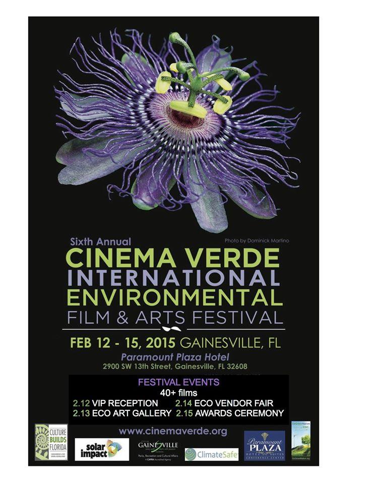 6th Annual Cinema Verde International Environmental Film & Arts Festival