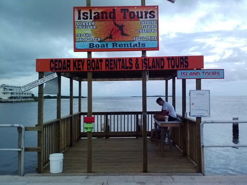 Cedar Key Boat Rentals and Island Tours