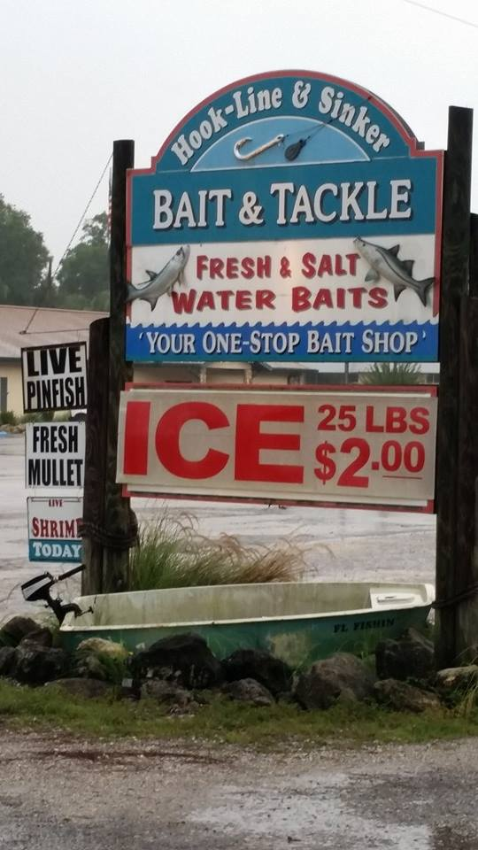 Hook up bait and tackle shop