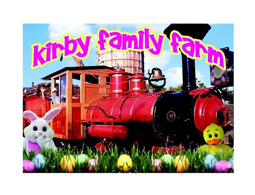 Kirby Family Farm's Rock-N-Roll Easter Train