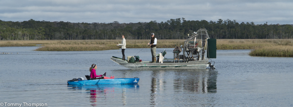 Dallus Creek, between Steinhatchee and Keaton Beach, in Taylor County, can be a busy spot for trout anglers. It also offers good access to paddlers!
