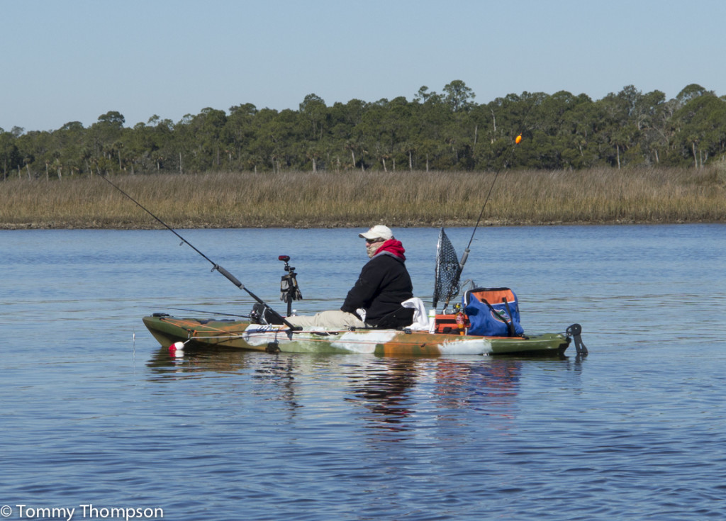 Fishing at the mouth of the Steinhatchee River in Taylor County
