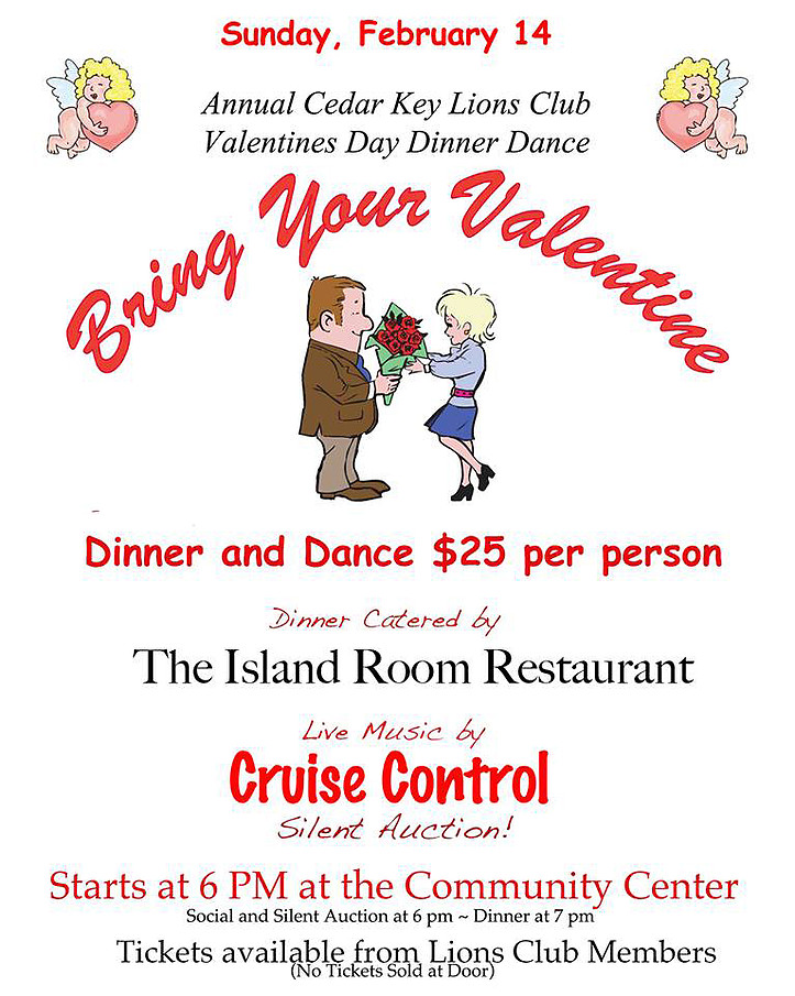 Cedar Key Valentine's Day Dinner & Dance