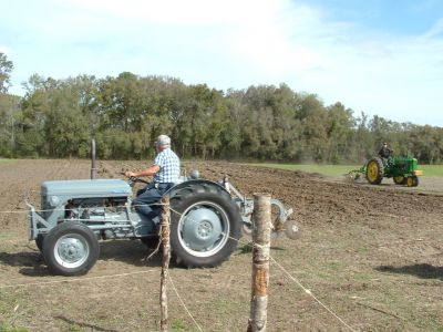 Plowing Up the Past at Dudley Farm