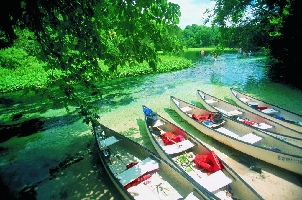 SantaFeRiver_Kayaks on the river