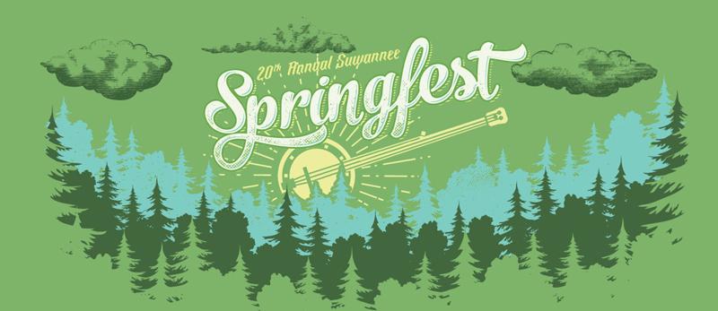 20th Annual Suwannee Springfest, March 17-20, 2016