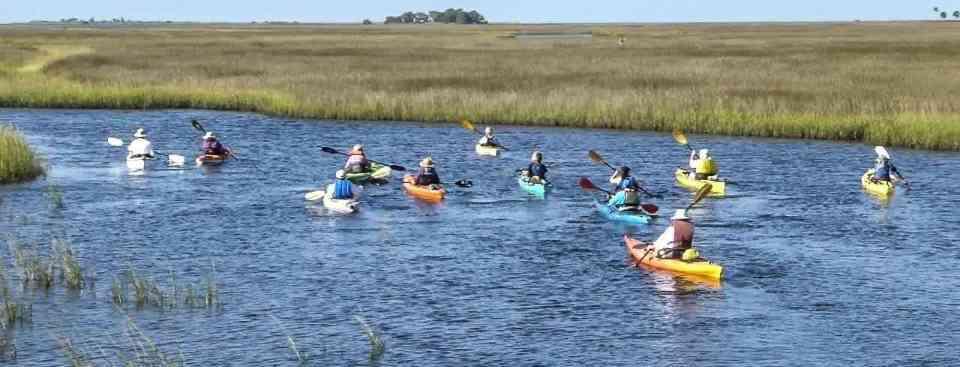 Paddle Florida's Big Bend Coastline At The 2017 Hidden Coast Paddling Adventure, October 11-14