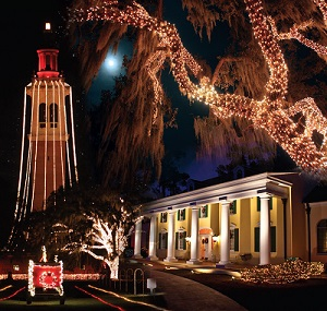 Don't Miss The Festival of Lights at Florida's Stephen Foster State Park, 12/1/17-12/24/17