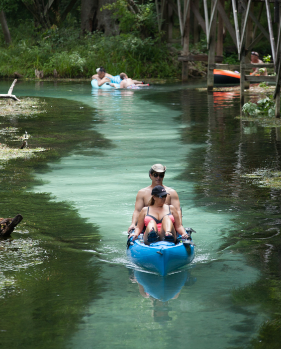 Natural North Florida's Gilchrist Blue Springs is Now Florida's Newest State Park, 11/1/17
