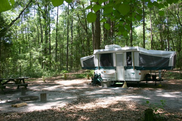 Camping at Suwannee River State Park
