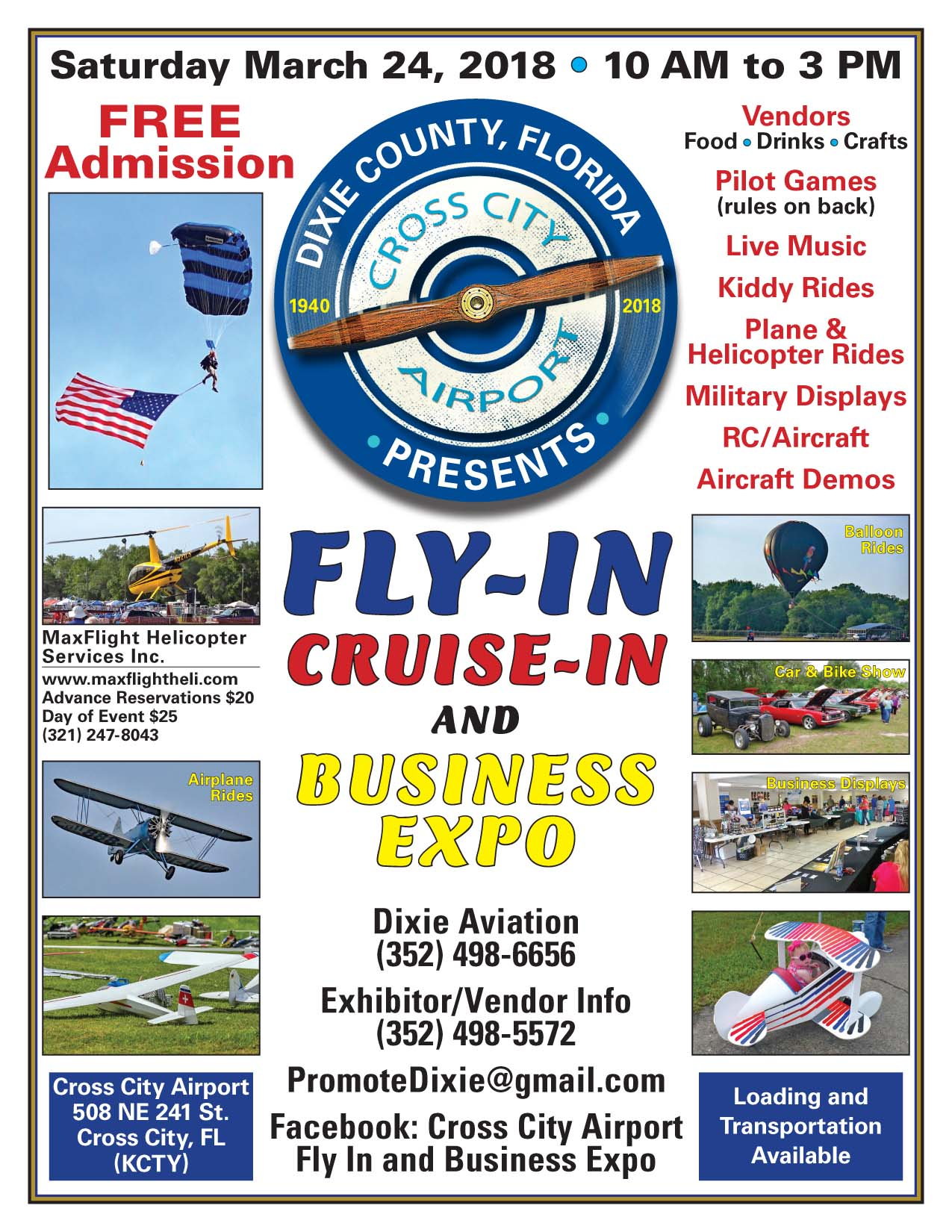 Cross City Fly-In & Air Show