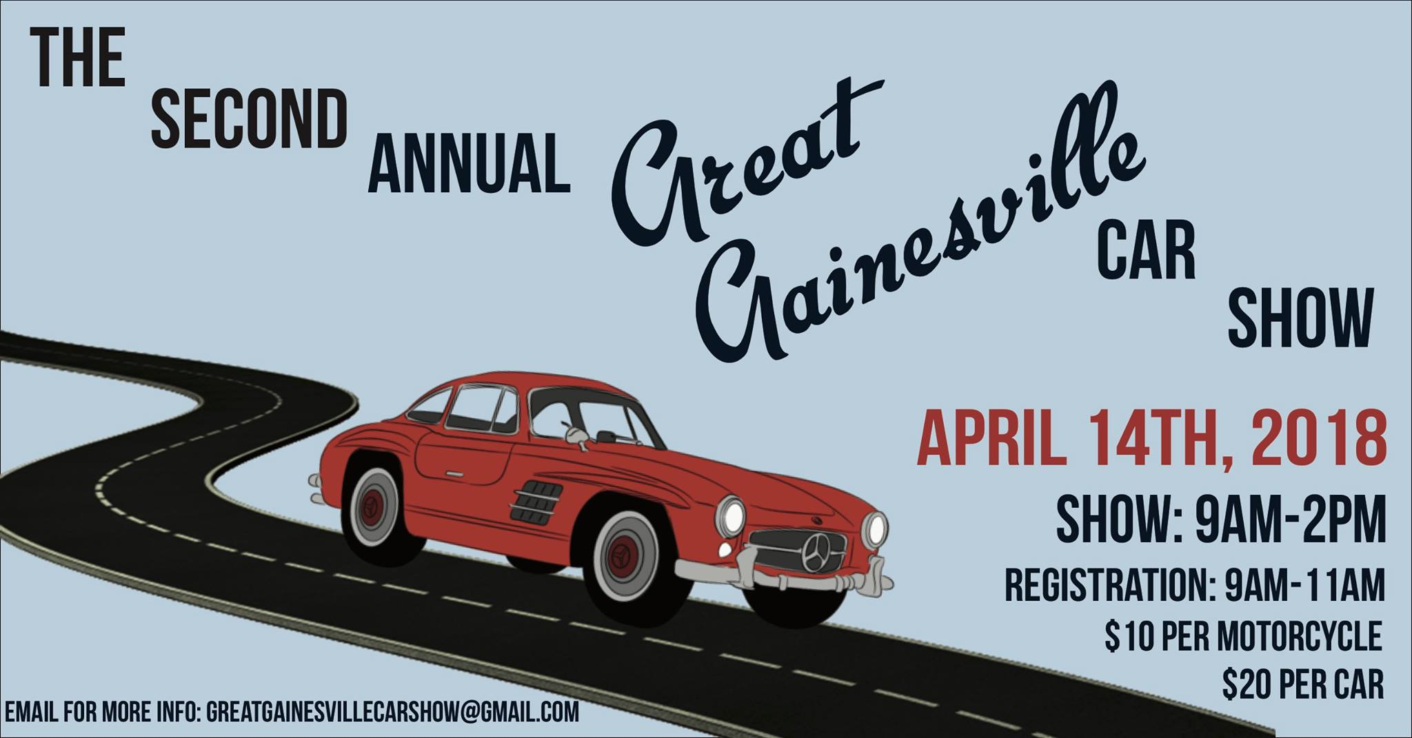 The Second Annual Great Gainesville Car Show