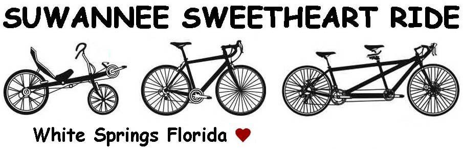 Suwannee Sweetheart Cycling Weekend