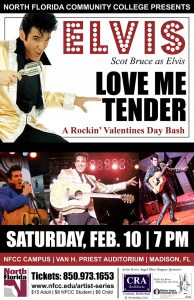 "Scot Bruce as Elvis ""Love Me Tender"" Rockin' Valentines Day Bash"
