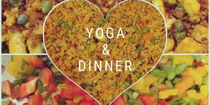 Yoga & Dinner by Radha's Kitchen