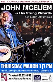 NFCC Artist Series : John McEuen and The String Wizards