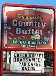 Savannah's Country Buffet