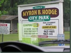 Myron B Hodge City Park