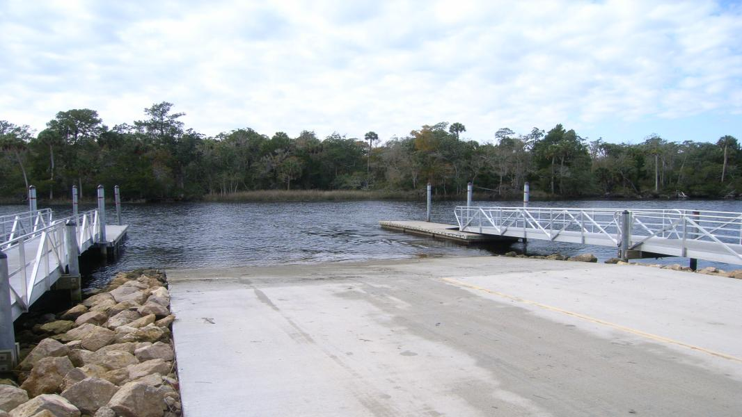Aucilla River Boat Ramp at Mandalay