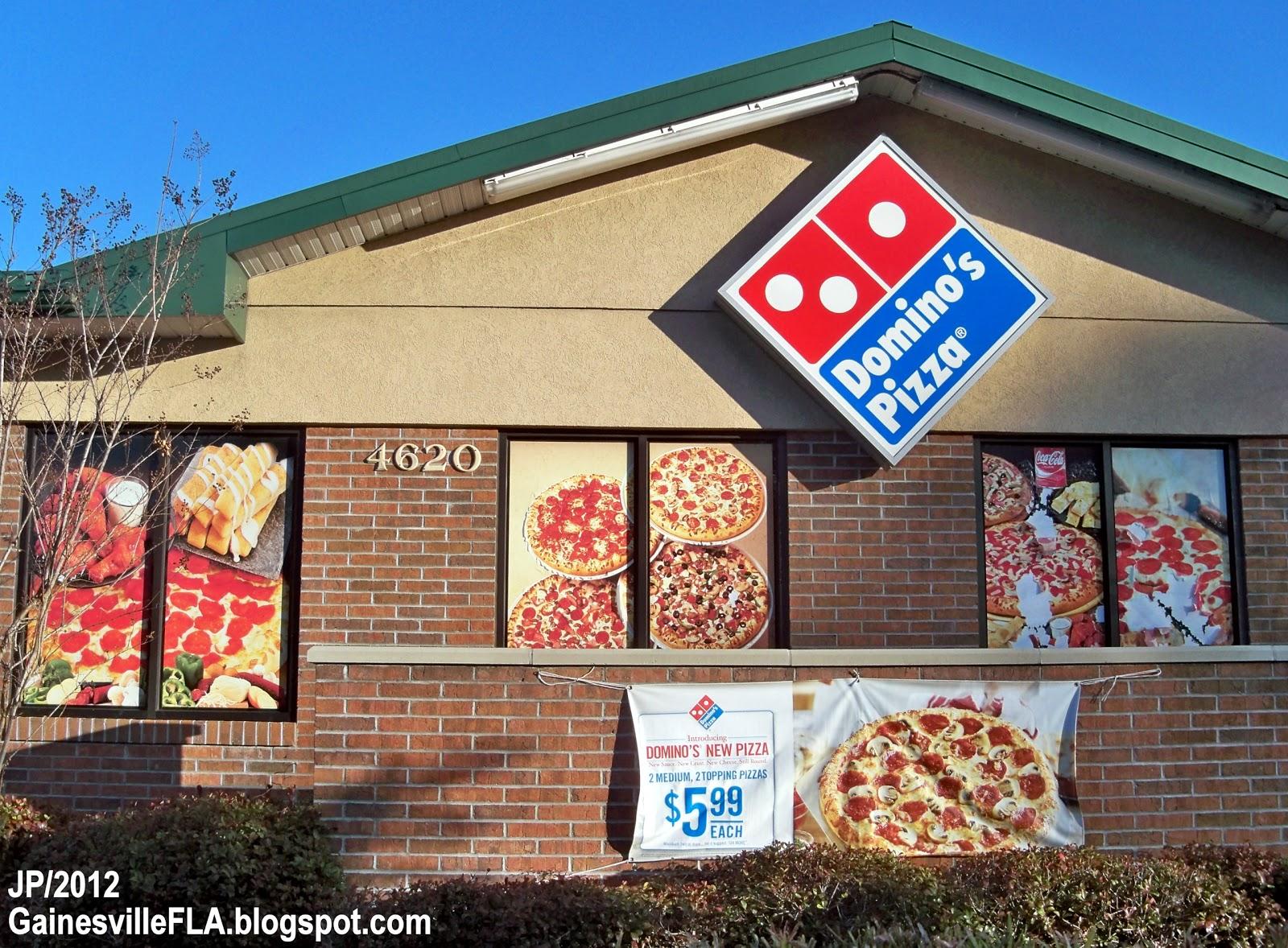 Gator Dominos Pizza
