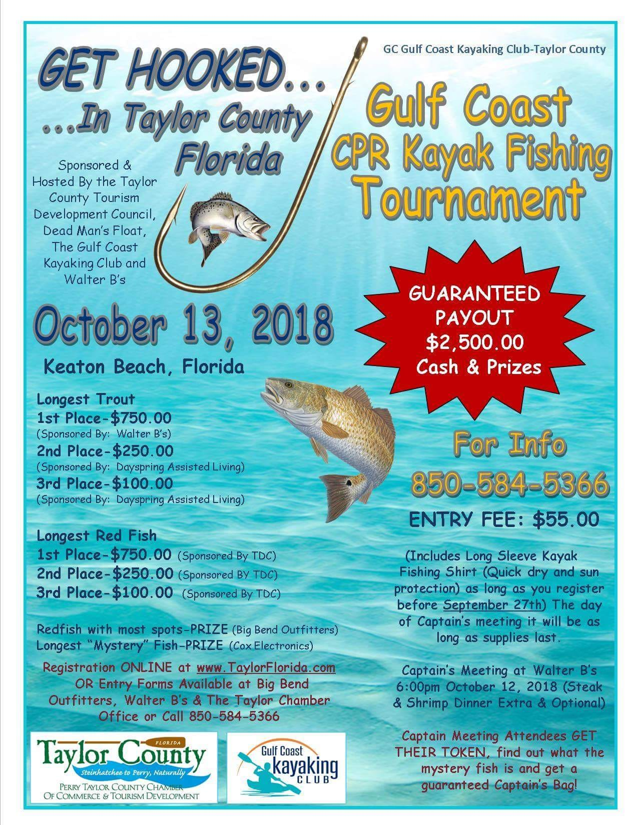 Gulf Coast Kayak Fishing Tournament