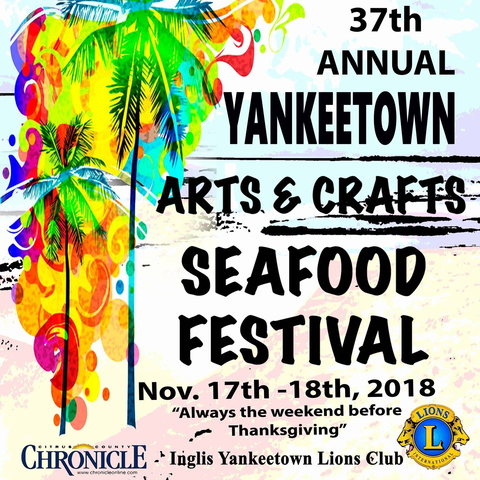 Annual Yankeetown Art Craft and Seafood Festival