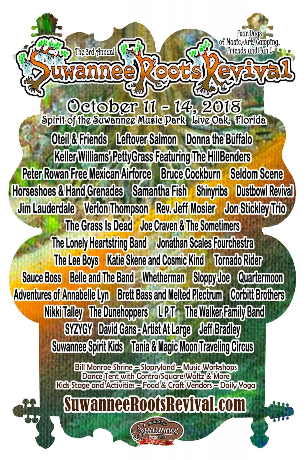 Suwannee Roots Revival Music Fest