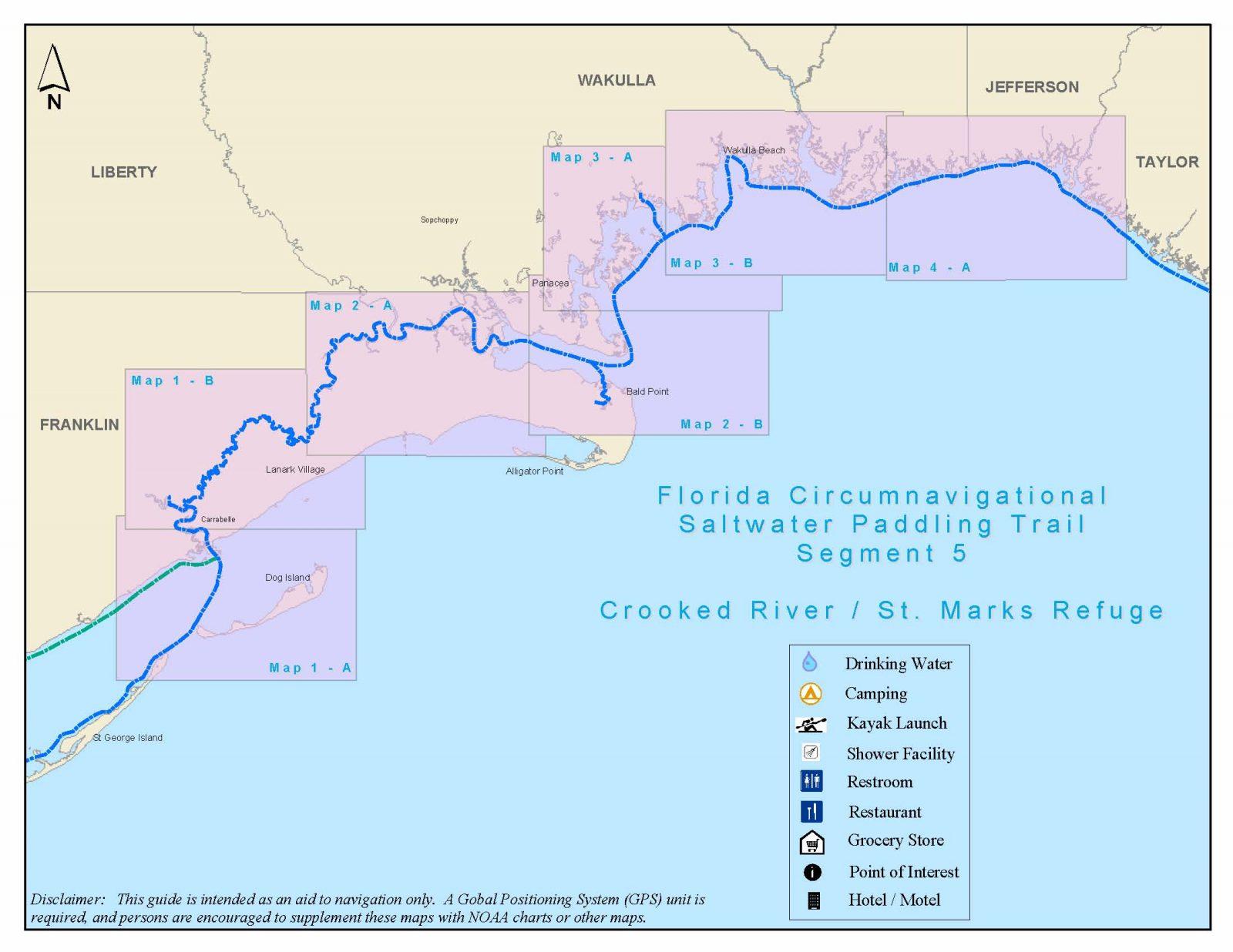 Florida Circumnavigational Saltwater Paddling Trail - Segment 5